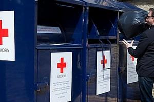 Røde kors genbrug